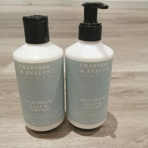 New Crabtree and evylin shampoo and conditioner